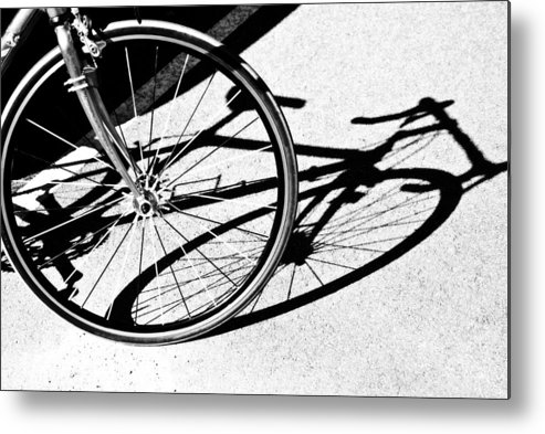 Sport Metal Print featuring the photograph Ready To Ride by Susan Leggett