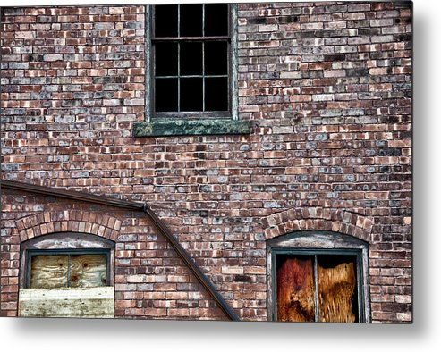 Bricks Metal Print featuring the photograph Repairs Underway by Ross Powell