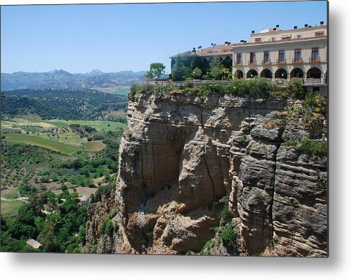 Roman Metal Print featuring the photograph Ronda by Perry Van Munster