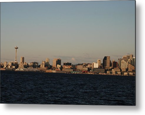 Seattle Metal Print featuring the photograph Seattle by Michael Merry