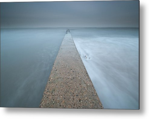 Horizontal Metal Print featuring the photograph Small Jetty by Photographybyurbaneyes.com