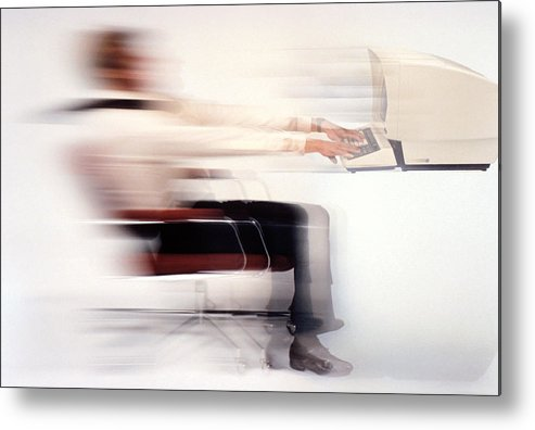 Speed Metal Print featuring the photograph Terminal Speed by Jerry McElroy