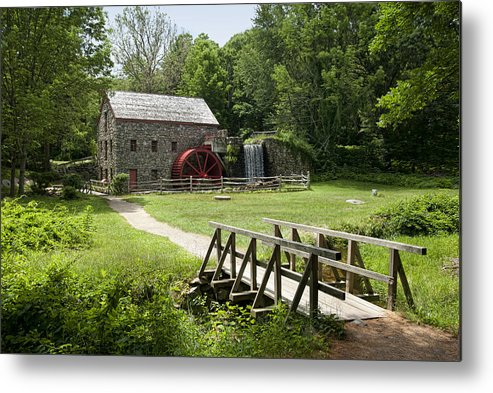 Grist Mill Metal Print featuring the photograph The Grist Mill by Lee Fortier