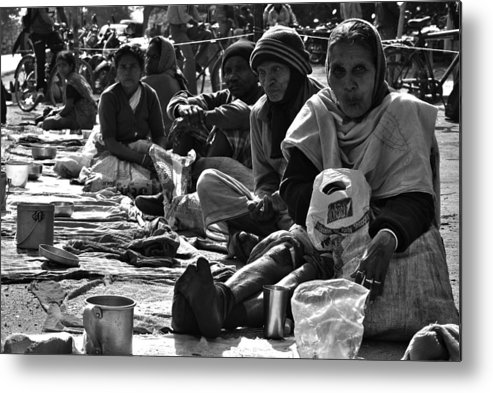 Photo Metal Print featuring the photograph The Other by Sourjya Roy