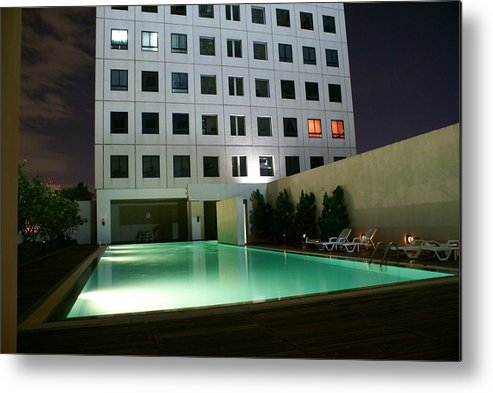 Elephant Metal Print featuring the photograph Twilight Urban Zen by Gregory Smith