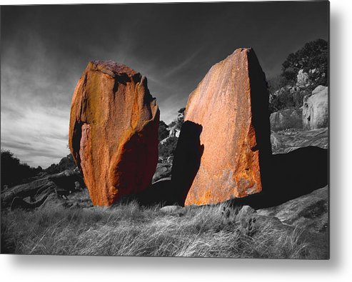 Photography Metal Print featuring the photograph Enchanted Rock Megaliths by Tom Fant