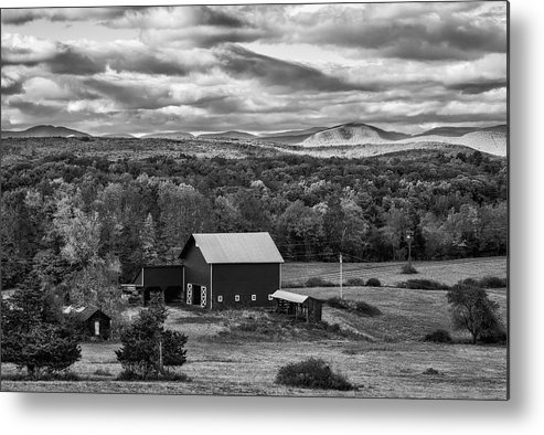 Autumn Metal Print featuring the photograph Hudson Valley Ny Fall Colors by Susan Candelario