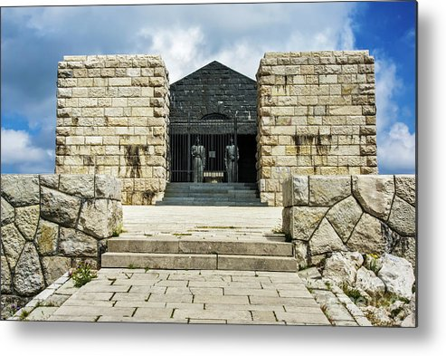 Lovćen Metal Print featuring the photograph Lovcen National Park Montenegro. by Ruth Hofshi