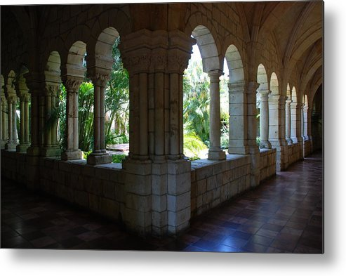 Architecture Metal Print featuring the photograph Miami Monastery by Rob Hans