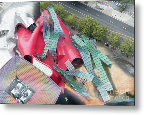 America Metal Print featuring the photograph Seattle's Mopop Museum by Rod Jones