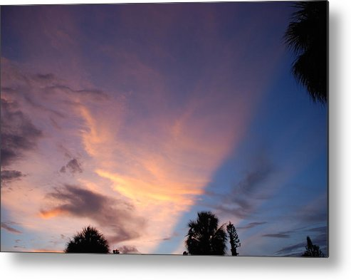 Sunset Metal Print featuring the photograph Sunset At Pine Tree by Rob Hans