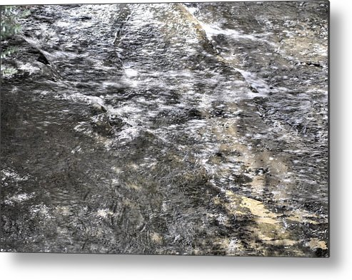 Water Metal Print featuring the photograph Untitled by Evelina Popilian