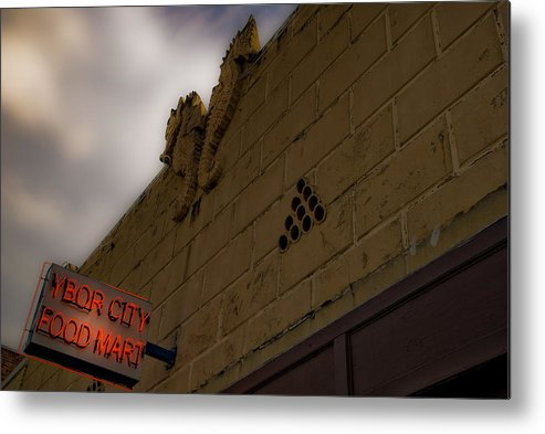 Tampa Metal Print featuring the photograph Ybor City by Patrick Flynn