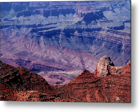 Grand Canyon Metal Print featuring the photograph Grand Canyon View by Susanne Van Hulst