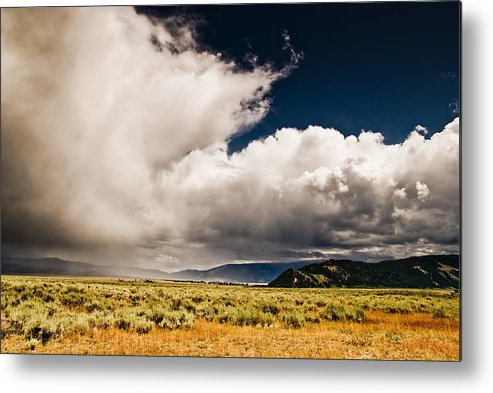 Wyoming Metal Print featuring the photograph Wyoming Sky by Patrick Flynn