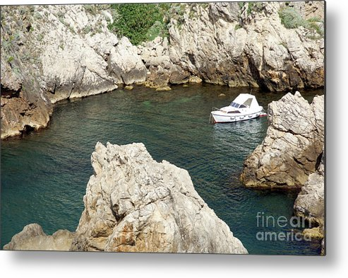 Safe Metal Print featuring the photograph Croatia, Dubrovnik by Ruth Hofshi