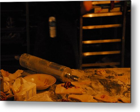 Kitchen Metal Print featuring the photograph A Baker by Steven Crown