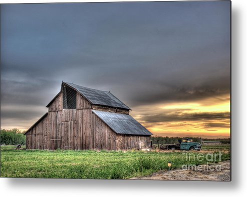Barn Metal Print featuring the photograph Abandoned by Jim And Emily Bush