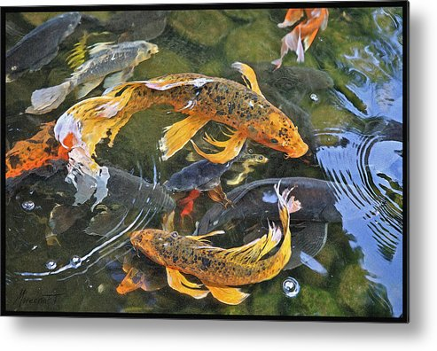 Digital Painting Metal Print featuring the painting Abundance by Ron Morecraft