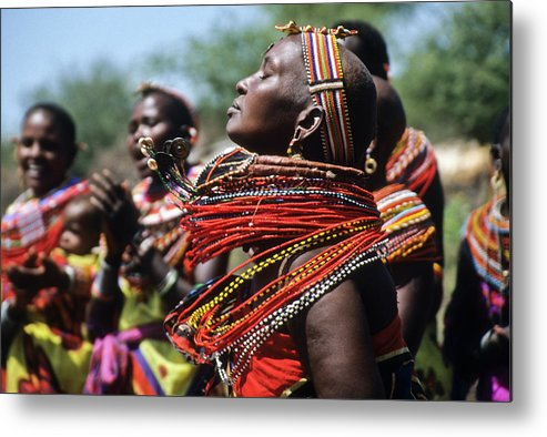 Africa Metal Print featuring the photograph African Rhythm by Michele Burgess