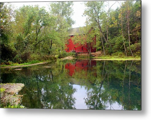 Mill Metal Print featuring the photograph Allsy Sprng Mill by Marty Koch
