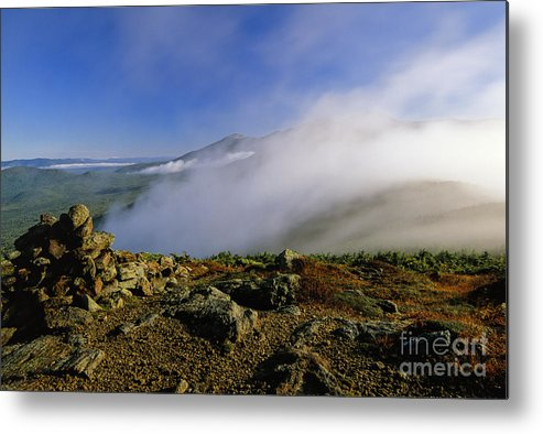 Adventure Metal Print featuring the photograph Appalachian Trail - White Mountains New Hampshire Usa by Erin Paul Donovan