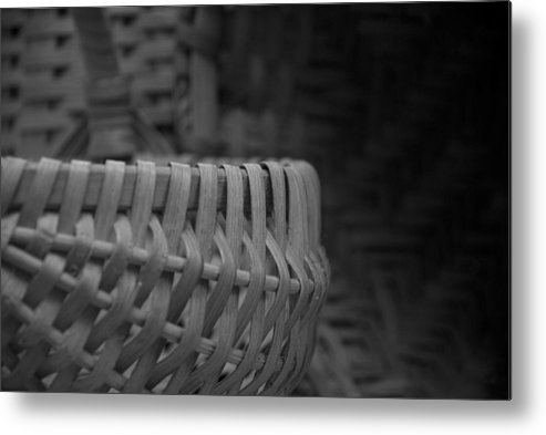 Baskets Metal Print featuring the photograph Baskets by Jessica Wakefield