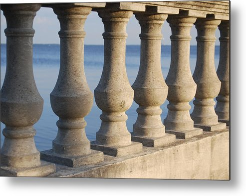 Outdoors Metal Print featuring the photograph Bayshore by Michael L Gentile
