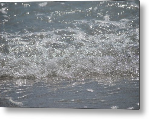 Florida Metal Print featuring the photograph Beach Surf by Lisa Gabrius