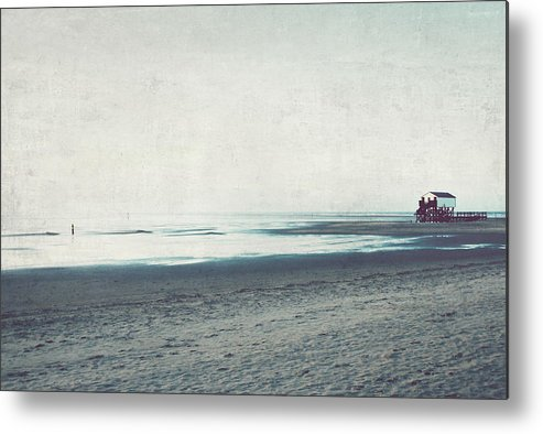 Andscape Metal Print featuring the photograph Beaches by Heike Hultsch