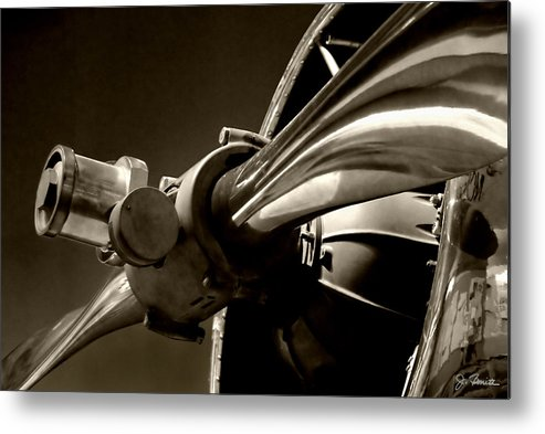 Antique Airplane Metal Print featuring the photograph Before The Jets No. 1 by Joe Bonita