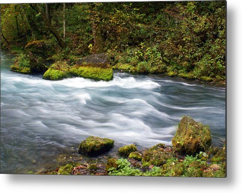Big Spring Metal Print featuring the photograph Big Spring Branch by Marty Koch