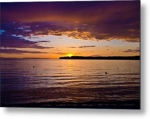 Metal Print featuring the photograph Birch Bay by JK Photography