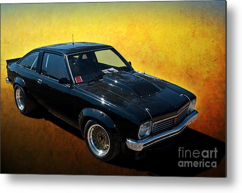 Holden Metal Print featuring the photograph Black A9x by Stuart Row
