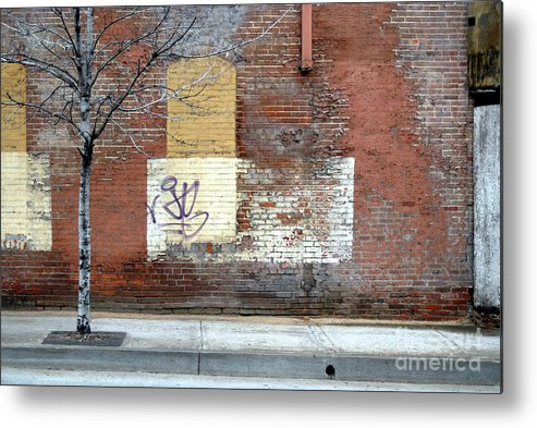 Brick Walls Metal Print featuring the photograph Brick Wall 3 Of Four by Walter Neal