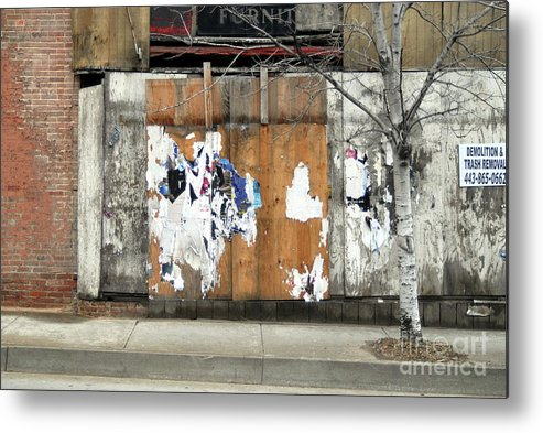 Brick Walls Metal Print featuring the photograph Brick Wall 4 Of Four by Walter Neal