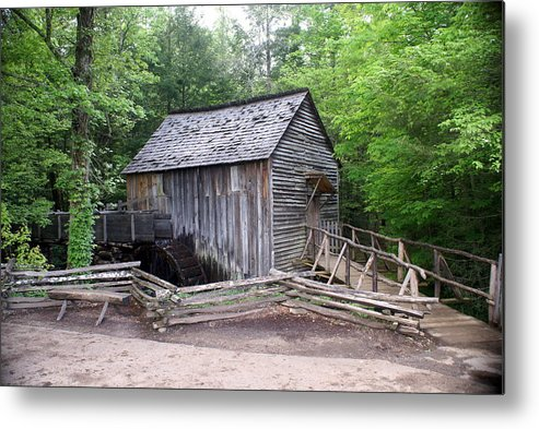 Cable Mill Metal Print featuring the photograph Cable Mill by Marty Koch