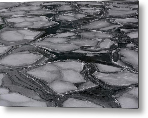 Water Metal Print featuring the photograph Canadian Ice by Richard Andrews
