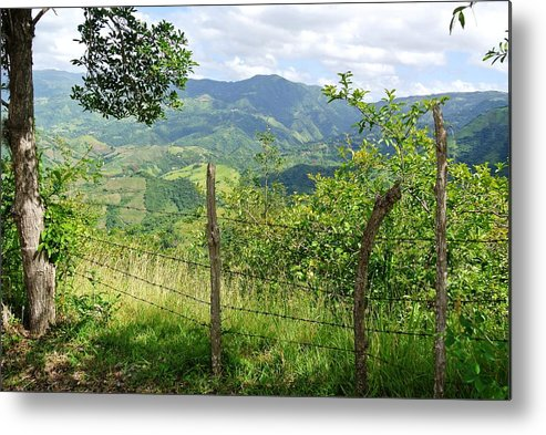 Campo Metal Print featuring the photograph Caonillas, Puerto Rico by Mayra Martinez