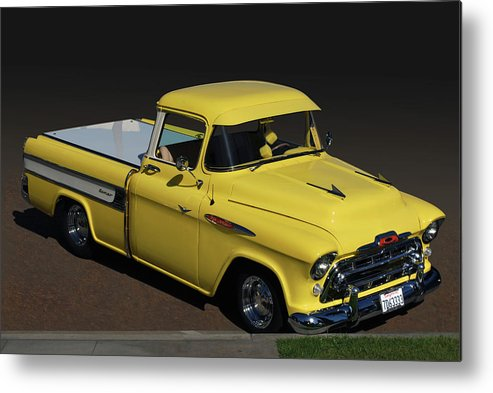 Chevy Metal Print featuring the photograph Chevy Cameo by Bill Dutting