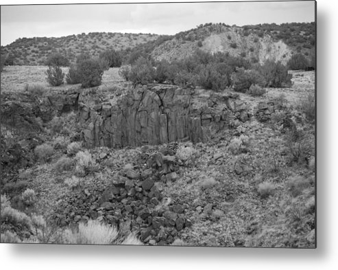 Rocks Metal Print featuring the photograph Cochiti Rocks by Rob Hans