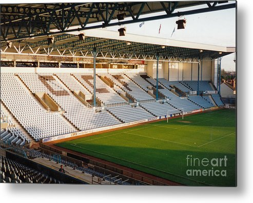 Coventry City Metal Print featuring the photograph Coventry City - Highfield Road - East Stand Swan Lane 3 - October 1994 by Legendary Football Grounds