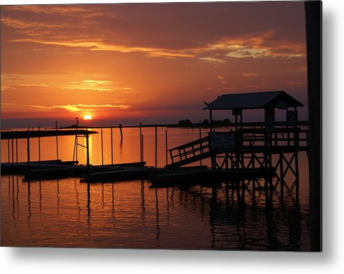 Dock Metal Print featuring the photograph Dock Of The Bay by Debbie May