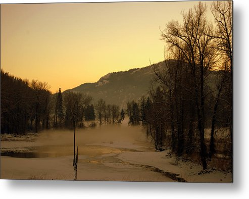 Metal Print featuring the photograph Early Morning In Easter Wa by JK Photography