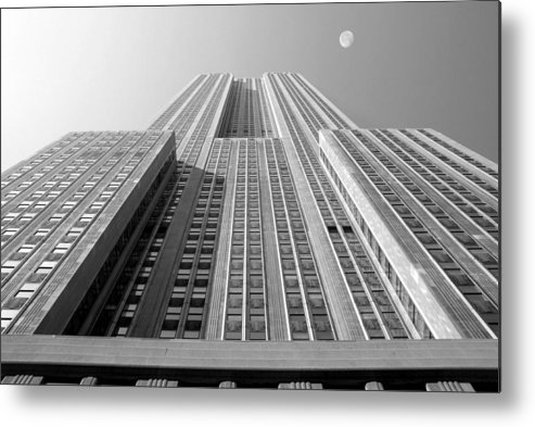 Empire State Building Metal Print featuring the photograph Empire State Building by Mike McGlothlen