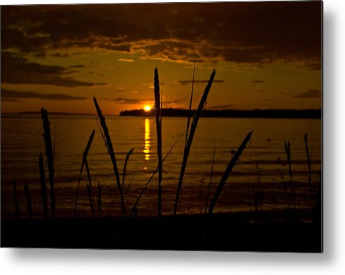 Metal Print featuring the photograph End Of A Good Day by JK Photography