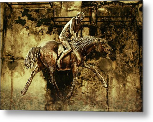 Horse Metal Print featuring the photograph Escape From Reality by Joachim G Pinkawa