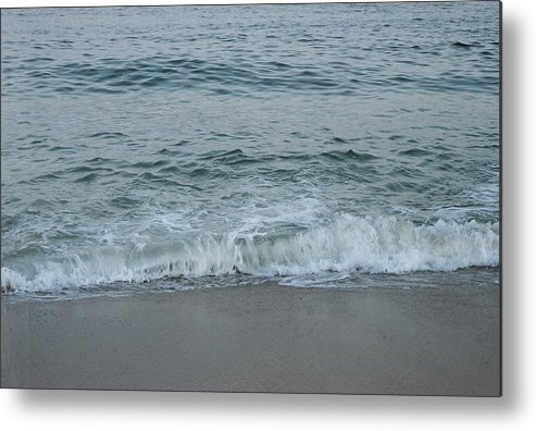 Ocean Metal Print featuring the photograph Evergreen Sea Charlestown R.i. by Cheryl Martin