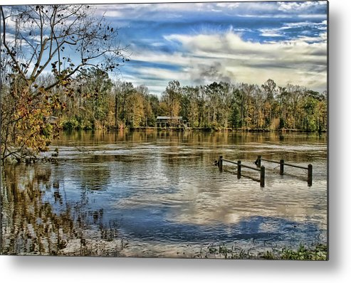 Alabama Metal Print featuring the photograph Floodwaters by Patricia Montgomery