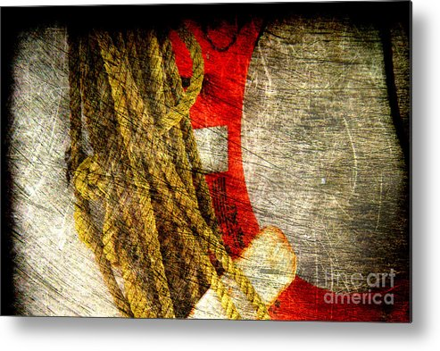 Safety Metal Print featuring the photograph For Your Safety by Susanne Van Hulst